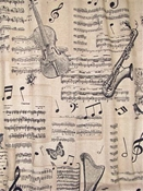 Linnets Music Fabric