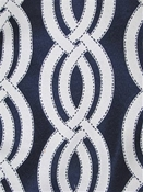 Sea Shore Navy Outdoor Fabric
