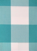Seaside Aquamarine Plaid Fabric