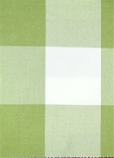 Seaside Celery Plaid Fabric