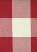 Seaside Ruby Plaid Fabric
