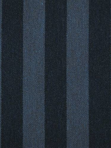 Shout Indigo Sunbrella Stripe Fabric