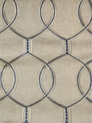 Slalom Bluestone Embroidery