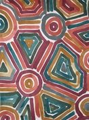 Songlines Cinnabar Tribal Geometric