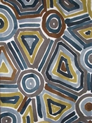 Songlines Slate Tribal Geometric