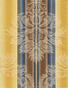 Jericho Golden Spa Stripe Fabric