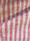 Swift Coral Stripe Fabric