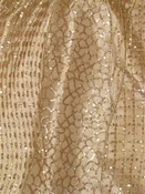 TLZ38009 Gold Sequin Lace