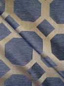 Statler Baltic Geometric Fabric