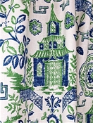 Teahouse Kelly Chinoiserie Toile