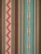 Thunderbolt Stripe Aqua Multi