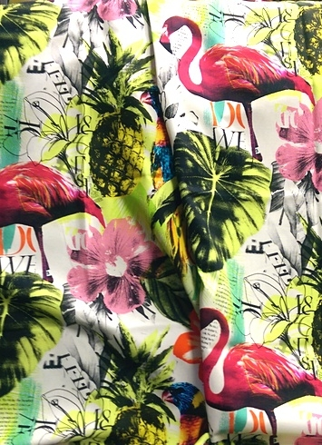 Tropical Heat Pina Colada Fabric By Style Fabric By Pattern