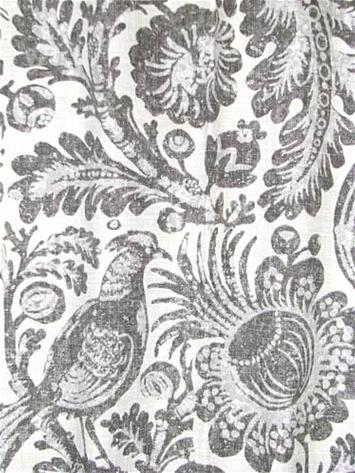 Tucker Resist Silver Waverly Fabric