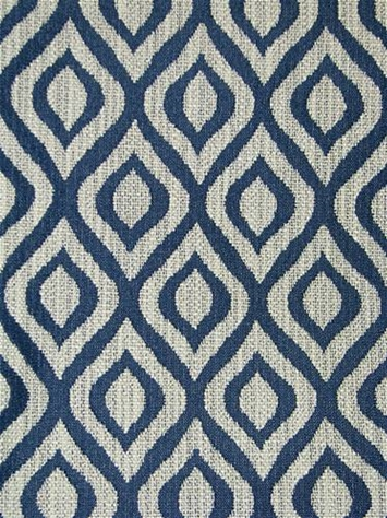 Tut Indigo Ogee Fabric Richloom Fabric