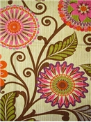 HGTV HOME Fabric Urban Blossoms Berry