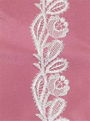 P-C786758 Venice Lace Trim White