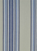 Waters Edge Indigo Stripe Fabric