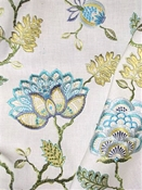 Wheaton 548 Isle Waters Jacobean Embroidery