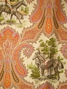 Woodgate Spice Equestrian Fabric