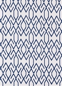 Zoe Navy Lacefield Fabric