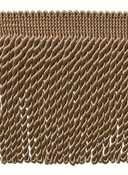 "Beige 6"" Long Bullion Fringe"