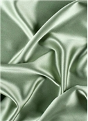 Silver Sage Crepe Back Satin Fabric