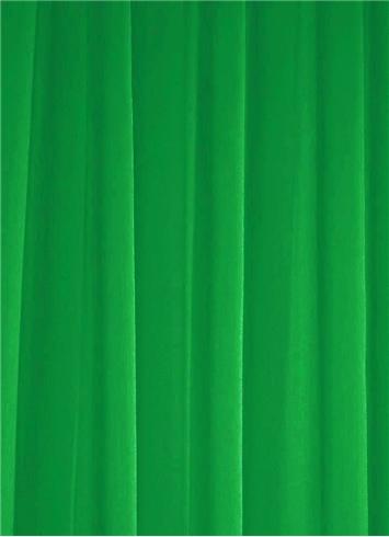 Kelly Green Chiffon Fabric Bridal Fabric