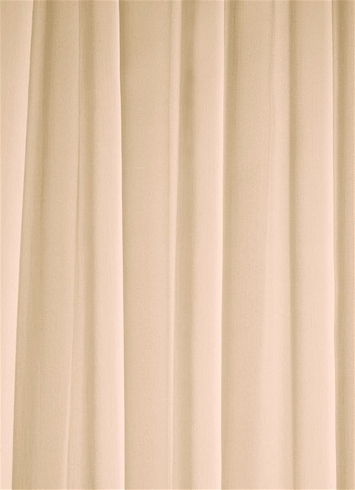 Nude Chiffon Fabric Bridal Fabric