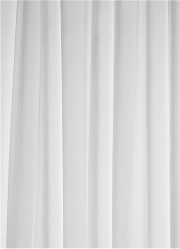 "60"" White Chiffon Fabric 
