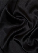 Black China Silk Lining Fabric