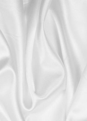 White China Silk Lining Fabric Bridal Fabric