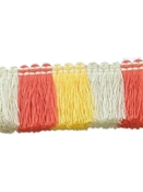 Sunbrella Color Block Fringe Sunshine