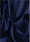 Navy China Silk Lining