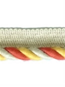 Sunbrella 3/8 Inch Cord Edge Yellow Melon