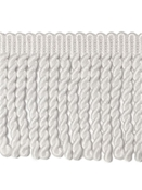 Sunbrella 3 Inch Bullion Fringe Natural White