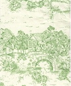 NY Toile Apple Green