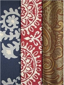 Paisley & Medallion Fabric