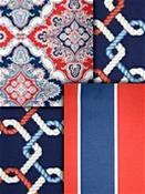 Red, White & Blue Outdoor Fabric