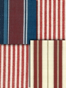 Red Stripe Fabric