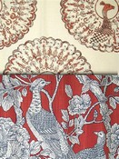 Red Bird Fabric