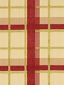 PLAID CHENILLE SAGE RED
