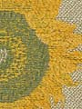 SUNFLOWERS YELLOW LINEN