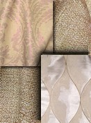 Rose Gold Metallic Fabric