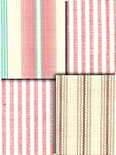Rose Pink Stripe Fabrics