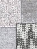 Grey Chenille Upholstery Fabric
