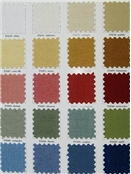 Cotton solid fabric for drapery or upholstery