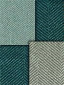 Spa Blue Herringbone Fabric