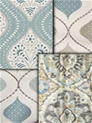 Spa Blue Medallion Fabrics