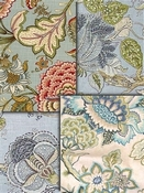 Spa Jacobean Fabrics