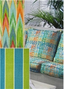 Stripes & Geometric Outdoor Fabric